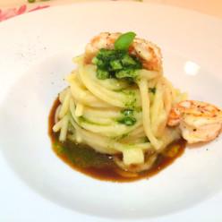 ricetta pasta e patate di mare